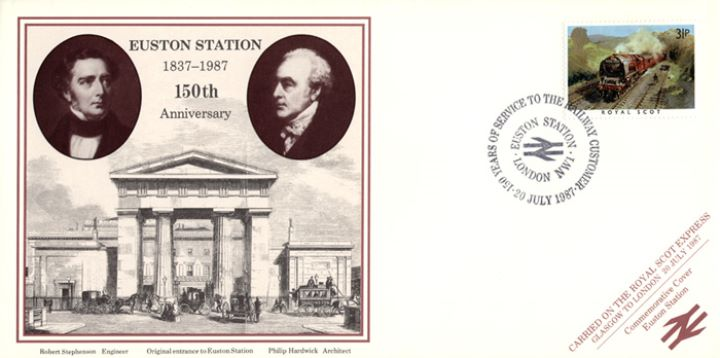 Euston Station, 150th Anniversary