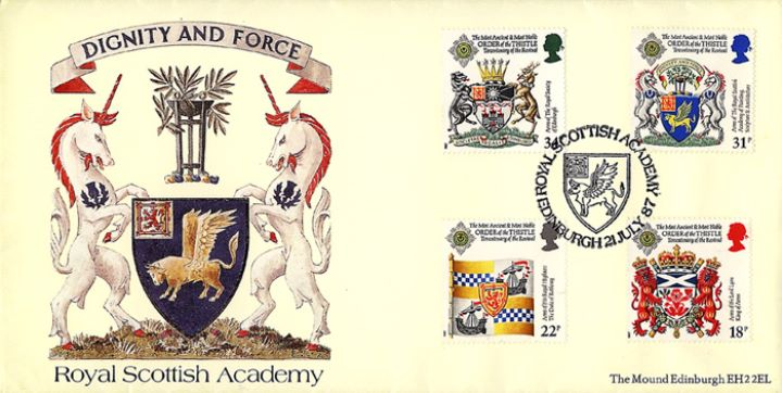 Scottish Heraldry, Royal Scottish Academy