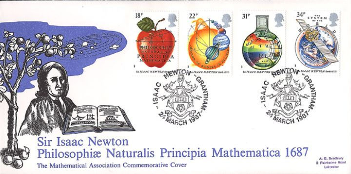 Sir Isaac Newton, Mathematical Association