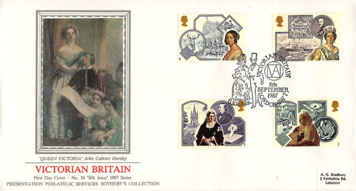 Victorian Britain, Family Portrait of Victoria