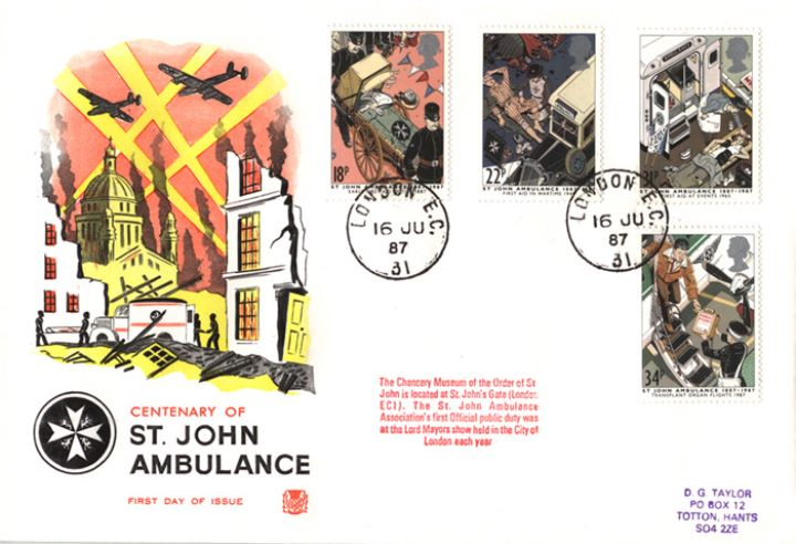 St. John Ambulance, St John Ambulance during the Blitz