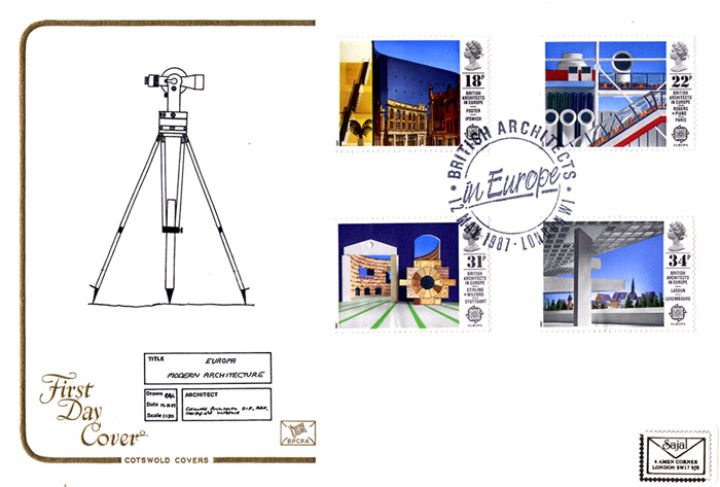 British Architects in Europe, Theodolite