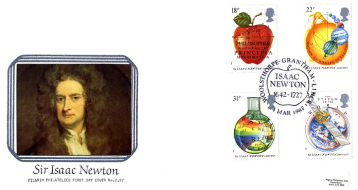 Sir Isaac Newton, Portrait of Newton