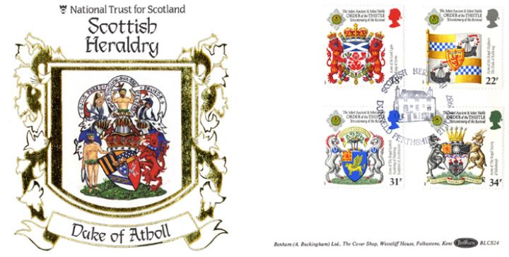 Scottish Heraldry, Duke of Atholl