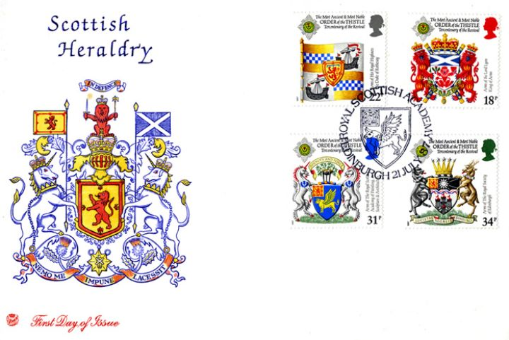 Scottish Heraldry, Scottish Arms
