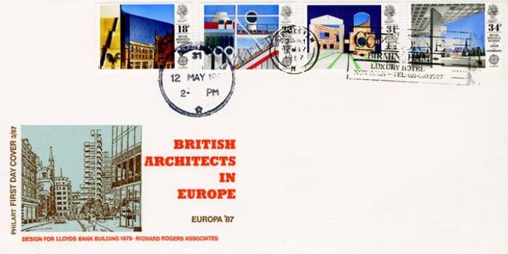 British Architects in Europe, Lloyds of London