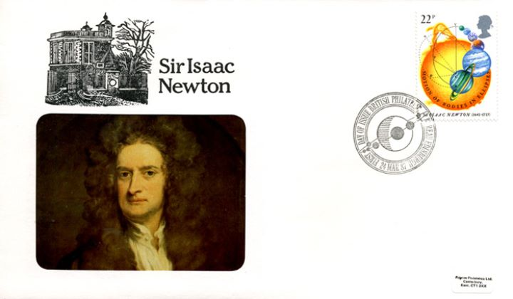 Sir Isaac Newton, Portrait of Issac Newton