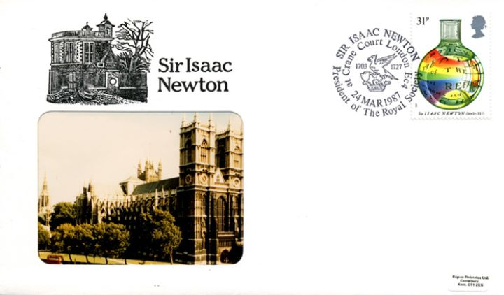 Sir Isaac Newton, Westminster Abbey
