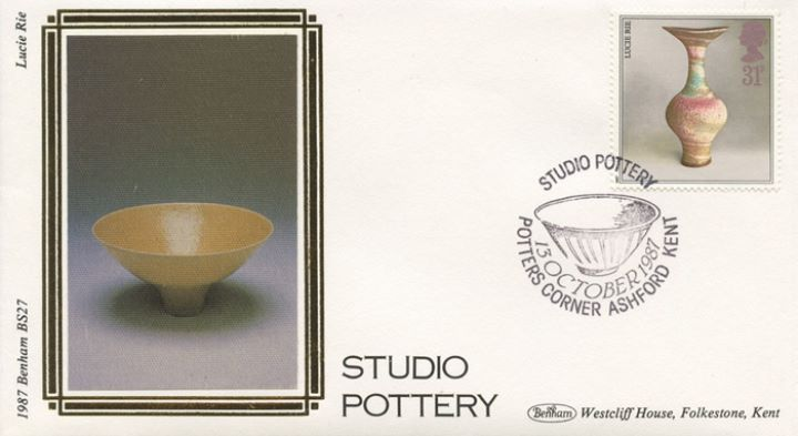 Studio Pottery, Lucie Rie