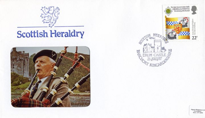 Scottish Heraldry, Piper
