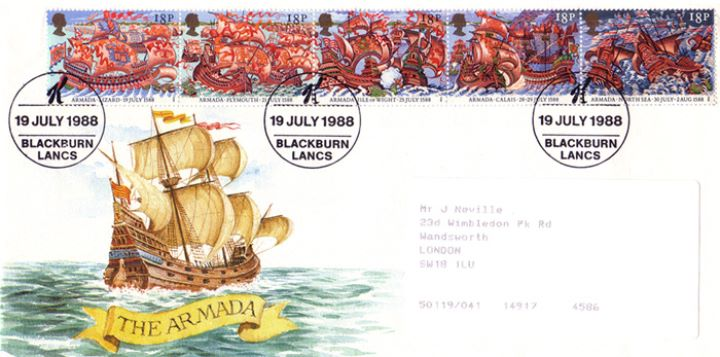 Spanish Armada, Kellogs Promotion Cover