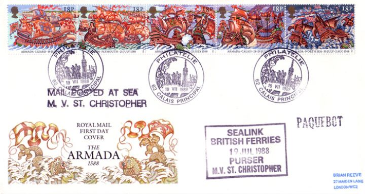 Spanish Armada, Sealink Ferries
