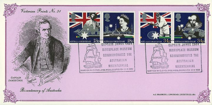 Australian Bicentenary, Captain Cook