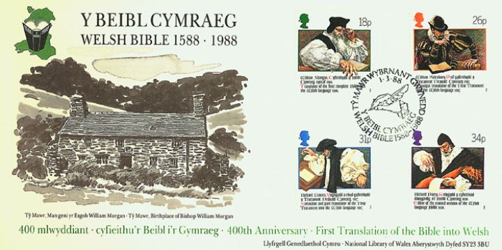 Welsh Bible, Birthplace of Bishop Morgan