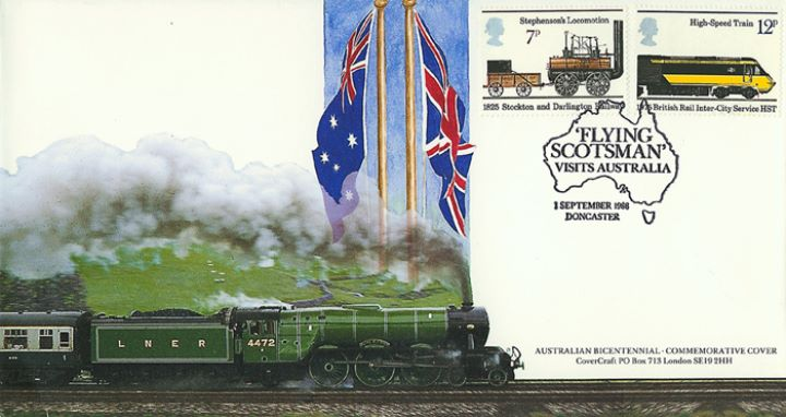 Flying Scotsman Visits Australia