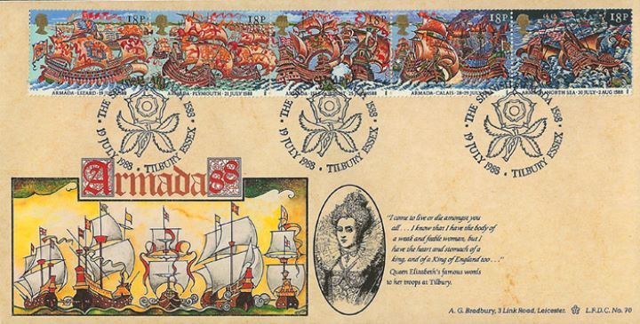 Spanish Armada, Queen Elizabeth