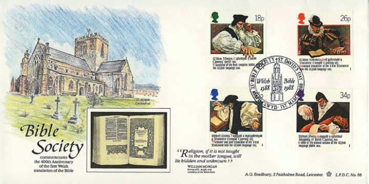 Welsh Bible, The Bible Society