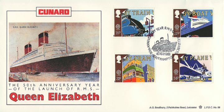 Transport, Cunard Queen Elizabeth