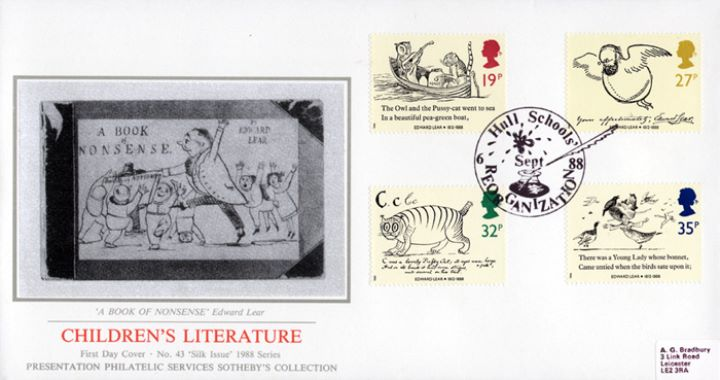 Edward Lear: Stamps, A Book of Nonsense