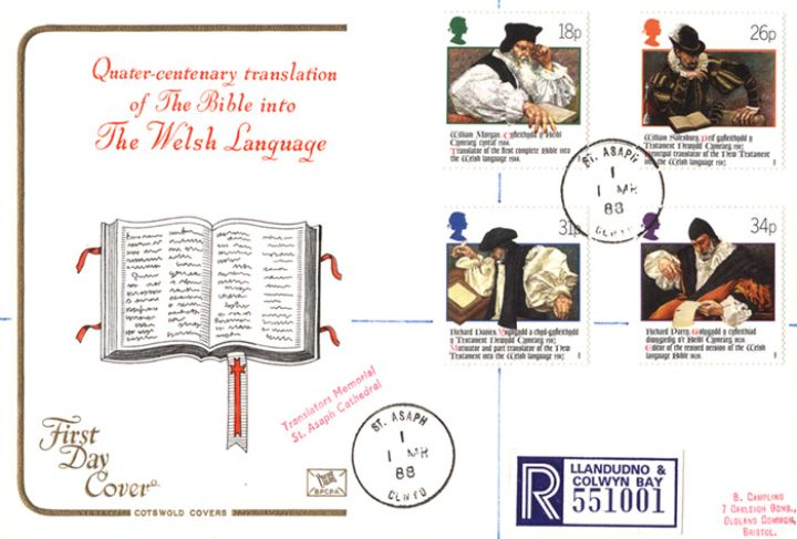 Welsh Bible, The Bible