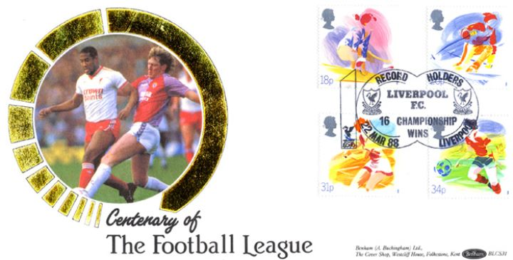 Sports Organisations, Centenary of the Football League