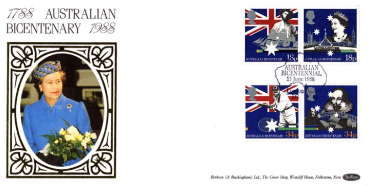 Australian Bicentenary, HM The Queen