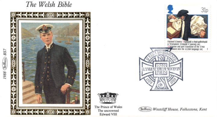 Welsh Bible, Edward VIII