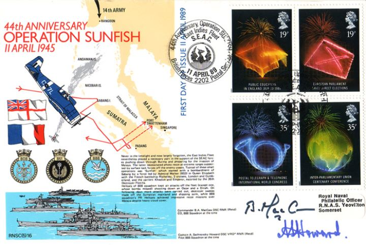 Anniversaries, Operation Sunfish