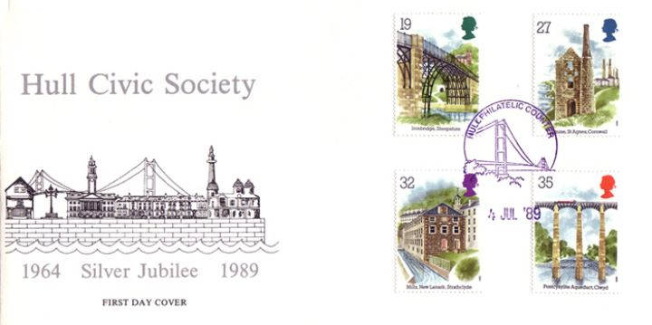 Ind. Archaeology: Stamps, Hull Civic Society