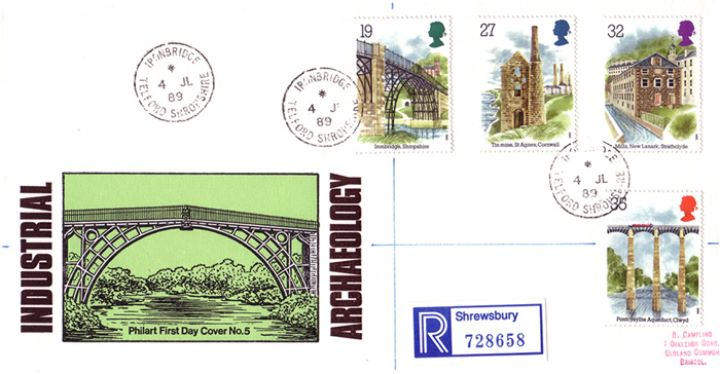 Ind. Archaeology: Stamps, Ironbridge