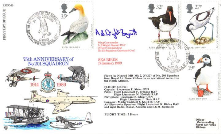 Sea Birds, 201 Squadron 75th Anniversary