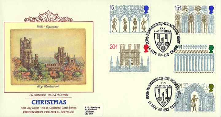 Christmas 1989, Ely Cathedral Cigarette Card