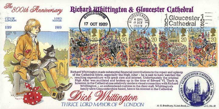 Lord Mayor's Show, Dick Whittington/Gloucester Cath