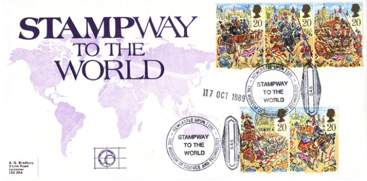 Lord Mayor's Show, Stampway to the World
