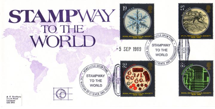 Microscopes, Stampway to the World