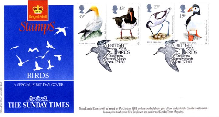 Sea Birds, Sunday Times Promotion