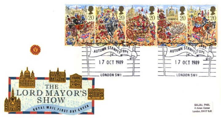 Lord Mayor's Show, Landmarks along Procession Route