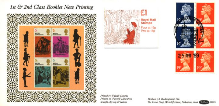 Vending: New Design: £1 Dickens 4 (Great Expectations), Dickens' Characters
