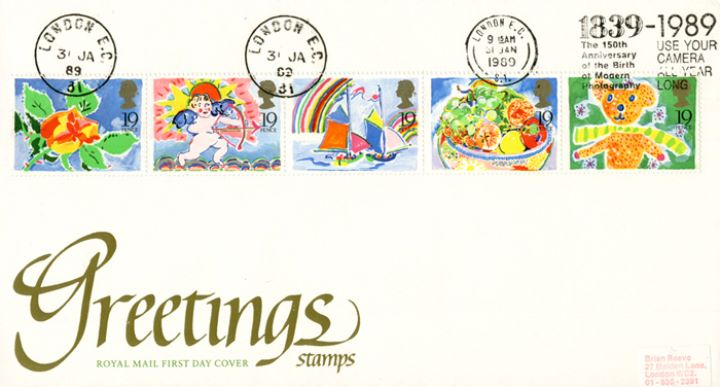 Greetings Stamps, Slogan Postmarks