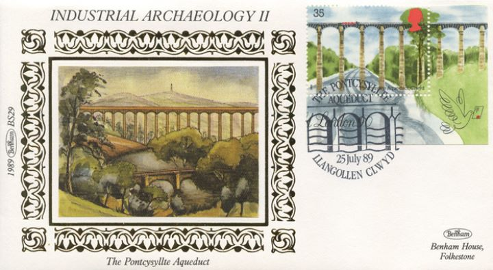 Industrial Archaeology: Miniature Sheet, Pontcysyllte Aqueduct