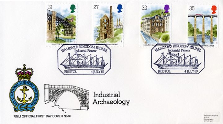 Ind. Archaeology: Stamps, RNLI Official