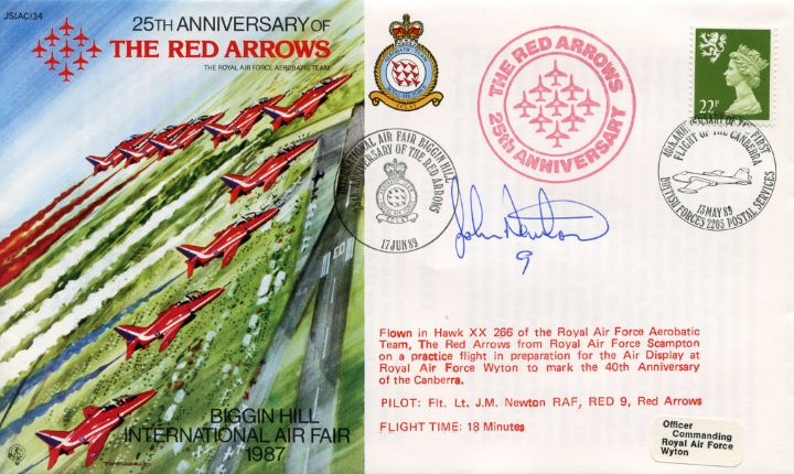 25th Anniversary, Red Arrows