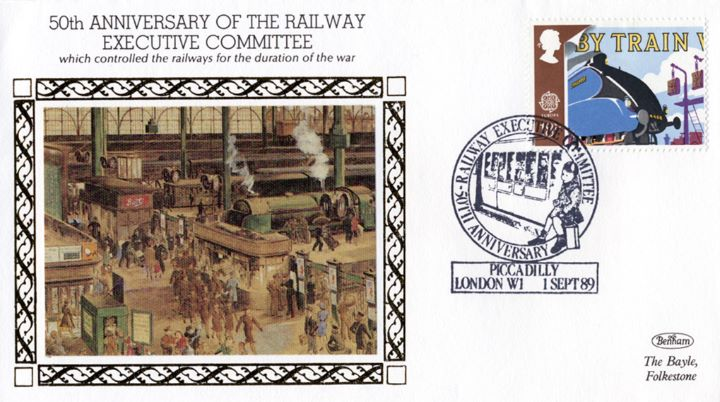 50th Anniversary of the Railway Executive Committee, Controlled the Railways during the War