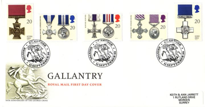 Gallantry, 50th Anniversary of the George Cross
