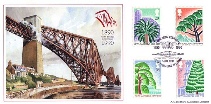 Kew Gardens, Forth Bridge Centennial