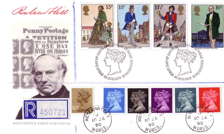 Penny Black Anniversary, Rowland Hill Penny Postage Petition