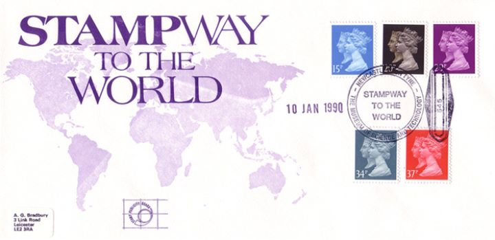 Penny Black Anniversary, Stampway to the World