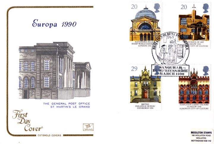 Europa 1990, The General Post Office