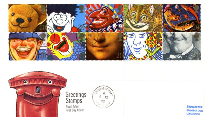 Smiles (Greetings), Smiling Pillar Box