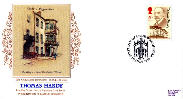 Thomas Hardy, The King's Arms Dorchester